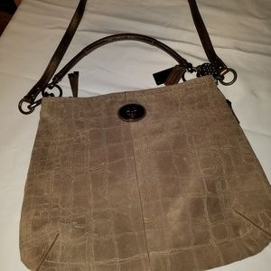 COACH SUEDE CROSSBODY Vin